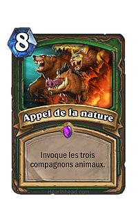 Hearthstone : Appel de la nature