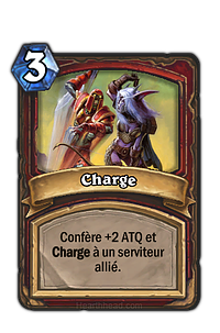 Hearthstone : Charge
