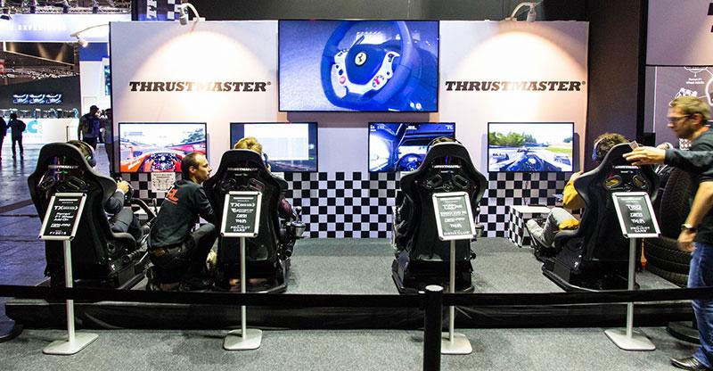 Paris Games Week : Thrustmaster nous présente son savoir faire