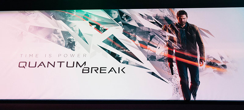 Paris Games Week : Quantum Break, un hit annoncé !