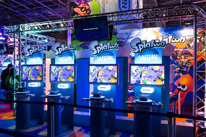 Paris Games Week : Platoon sur le stand Nintendo