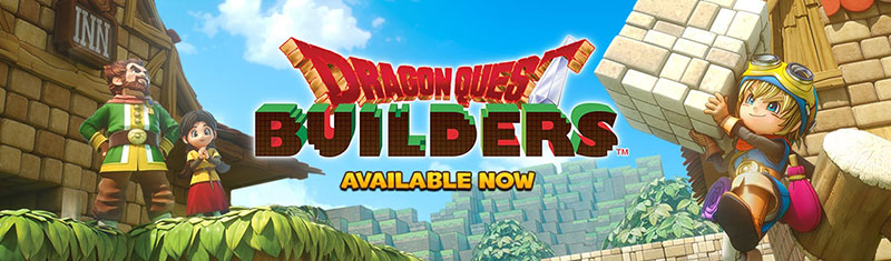 Dragon Quest Builders Square Enix PSVita PS4