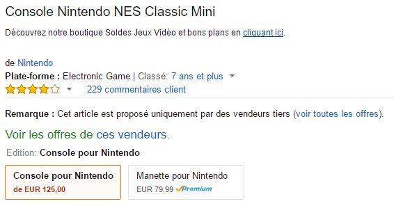 Retrogaming : NES Classic Mini à prix d'or