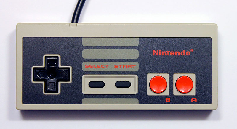 Retrogaming : manette NES