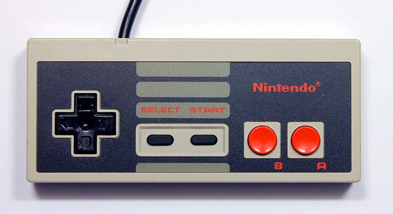 Retrogaming : manette NES