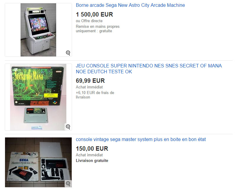 Retrogaming : un commerce juteux