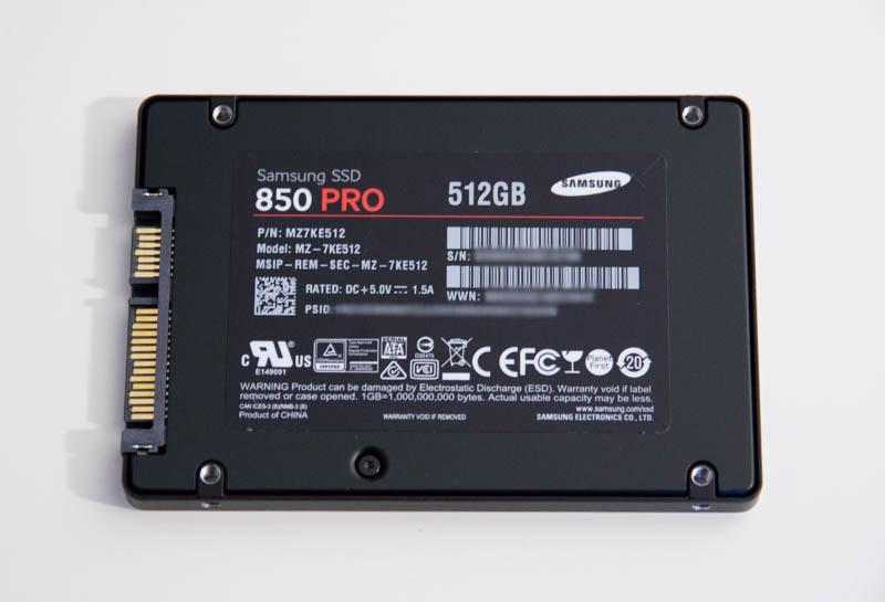 SSD Samsung 850 Pro : un SSD petit mais costaud