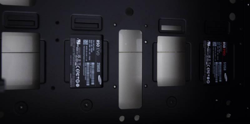 SSD Samsung 850 Pro : mise en place dans le In Win 909