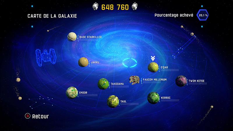 Star Wars : le Réveil de la Force - Les planètes, lieux de nombreuses aventures...