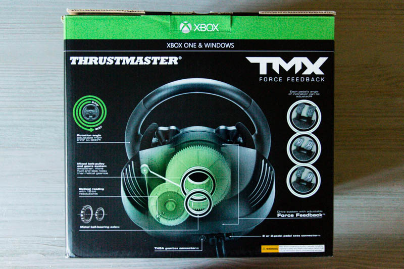 Thrustmaster TMX Force Feedback : un carton imposant