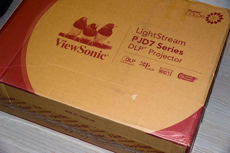 Viewsonic PJD7830 : Packaging