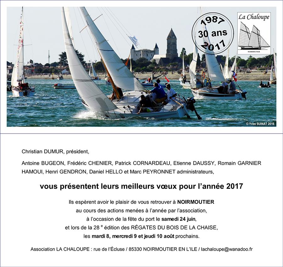 Association La Chaloupe Voeux 2017